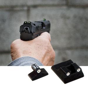 HK USPC 9mm - Sights, Night Sights