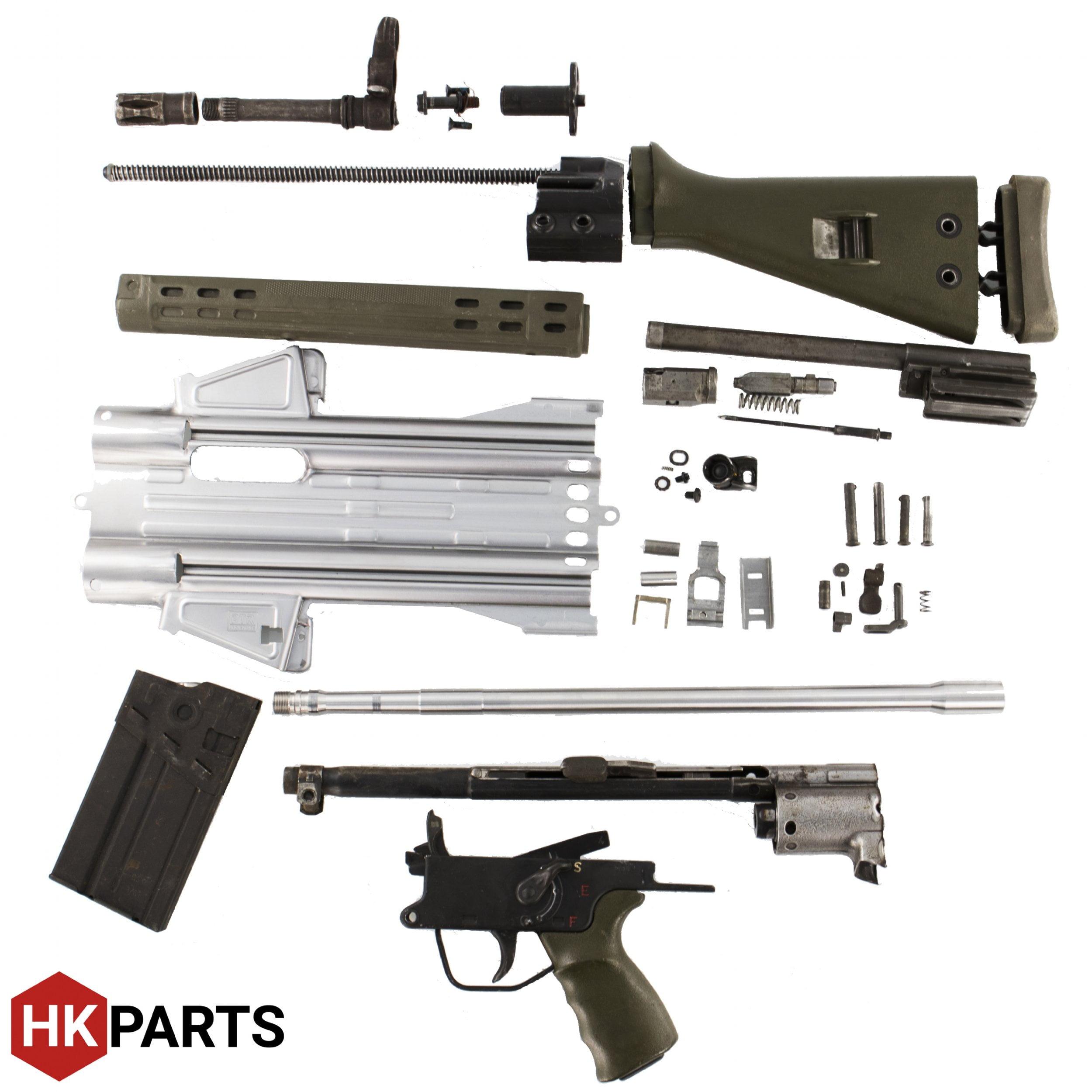 HK G3, HK 91, PTR Parts Kit - PTR Barrel, Flat