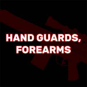 HK 91, G3 - Hand Guards, Forearms