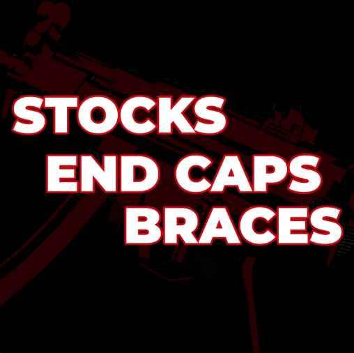 MP5/40 - Stocks, End Caps, Braces