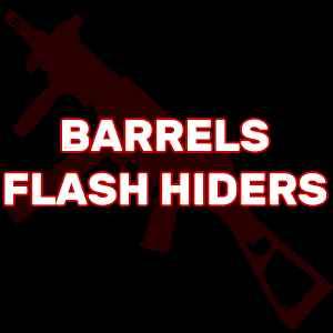HK UMP Barrels, Flash Hiders