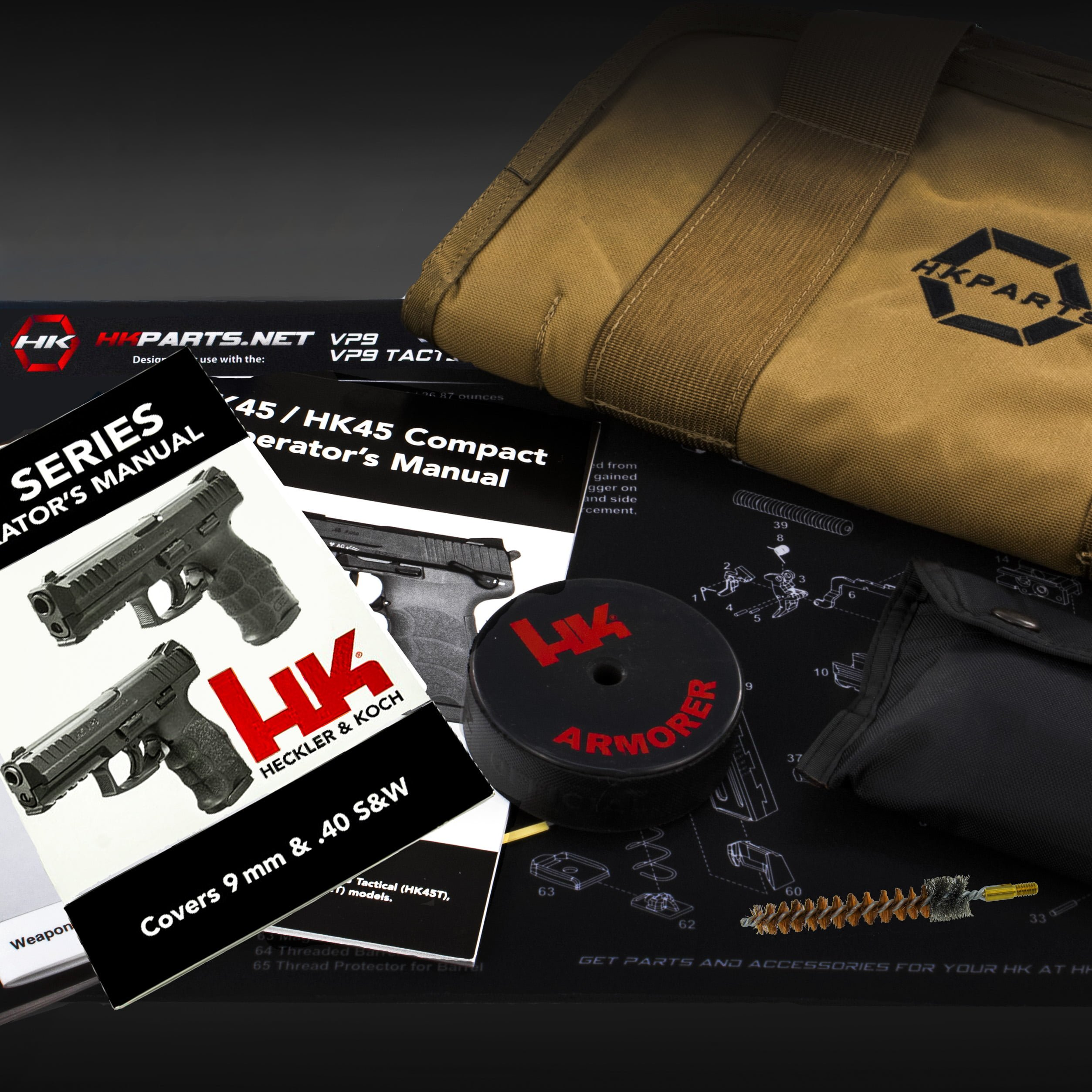 HK VP9 - Accessories